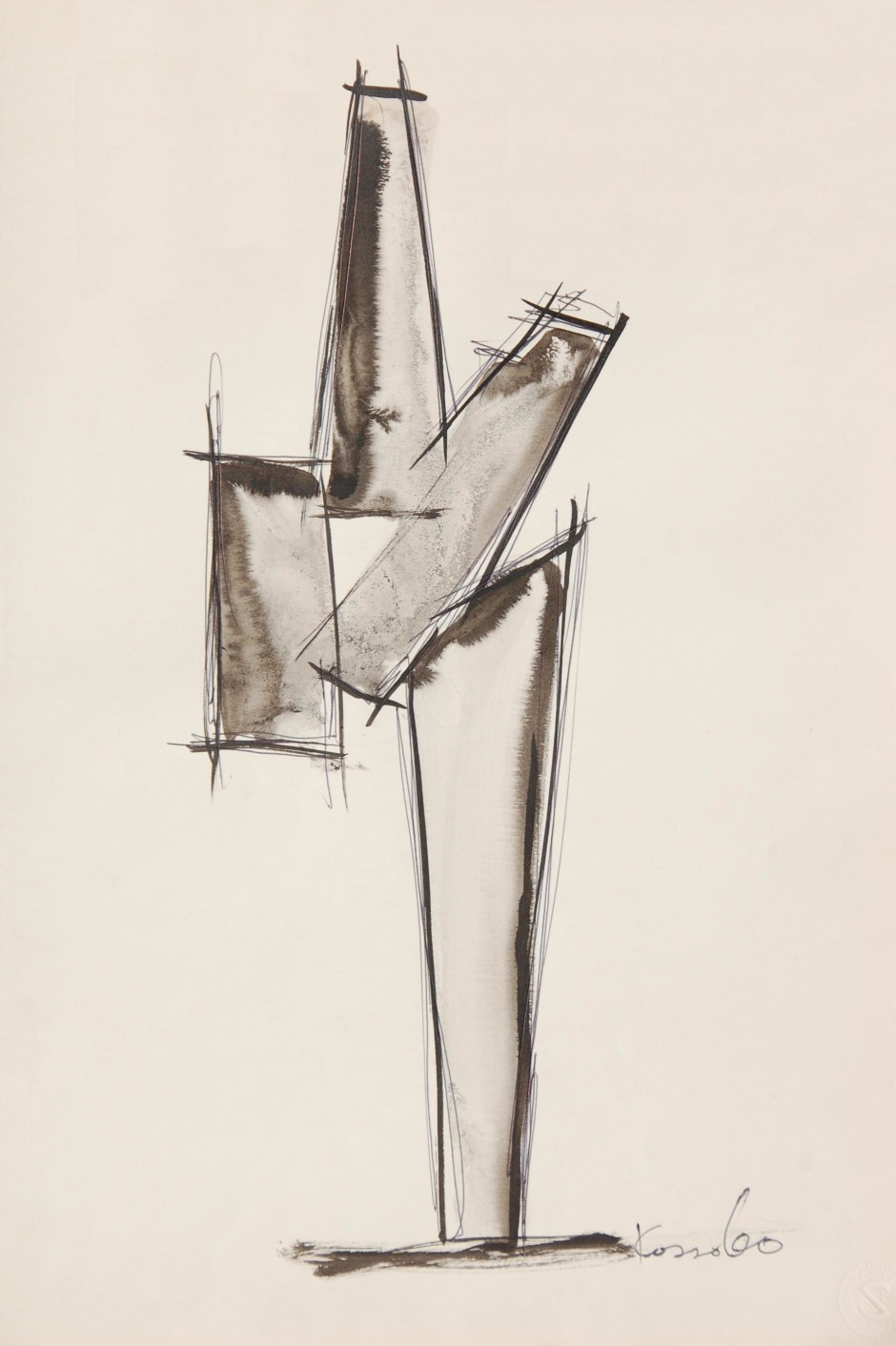 1961-1965 Works on Paper