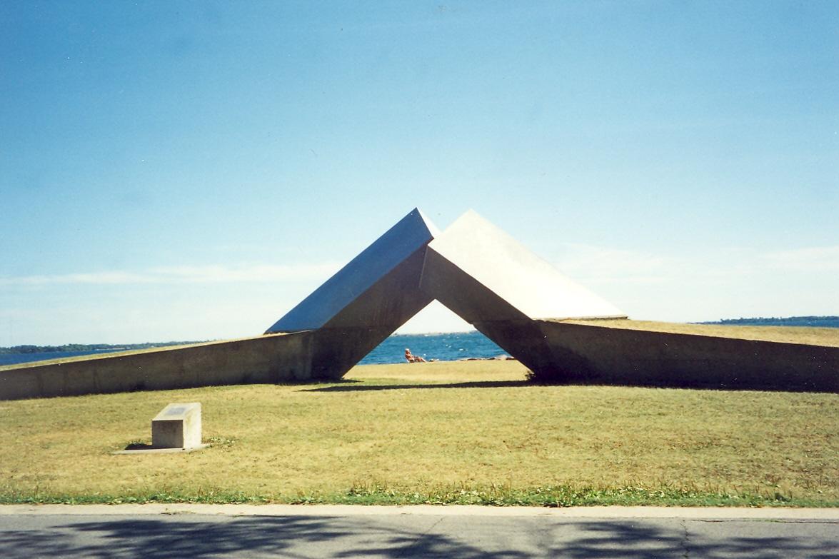 1973 'Time'-'Tri-Centennial sculpture', (Kingston, ONT)